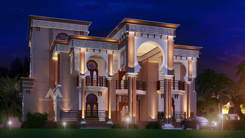 Luxurious Arabic Palace Inspired Villa Mwazinoon